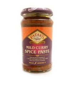 Pataks Mild Curry Spice Paste | Buy Online at The Asian Cookshop.